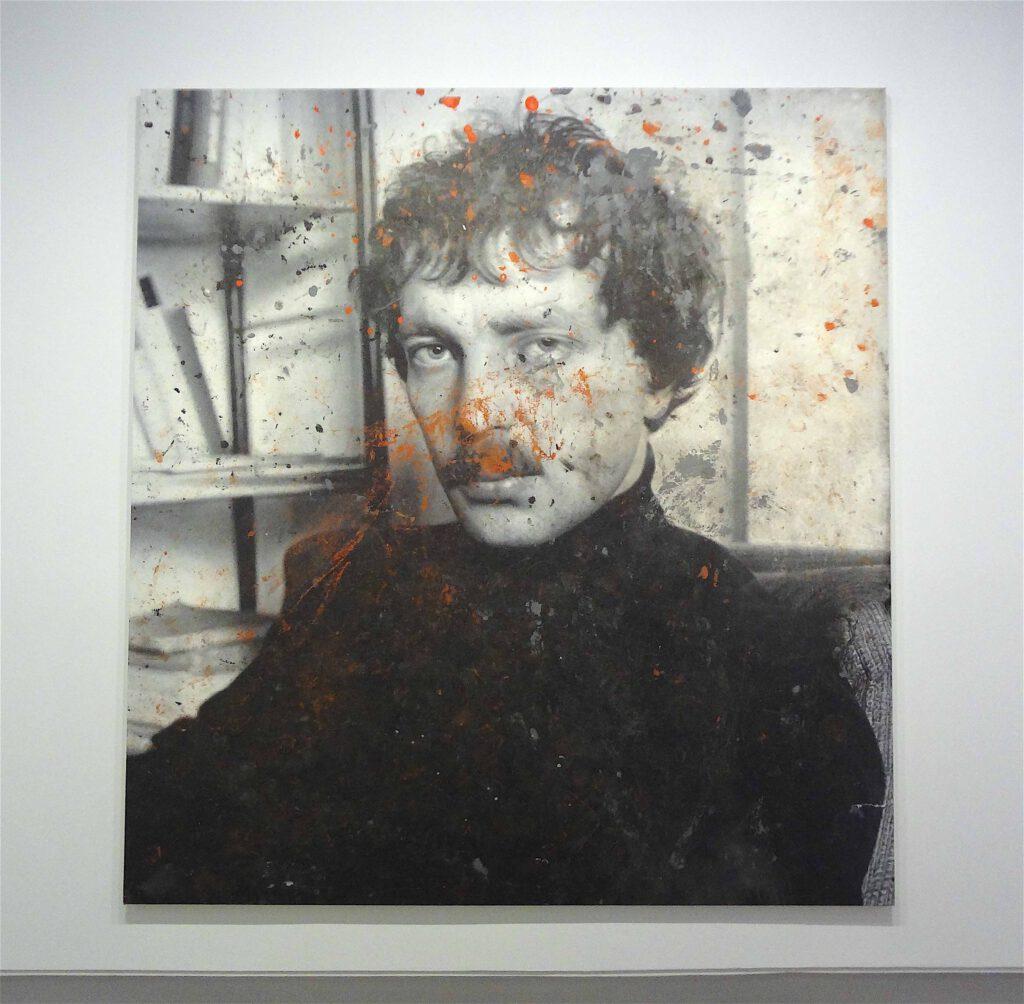 "Rudolf Stingel ""Untitled (Franz West)"" 2011, Oil on canvas"