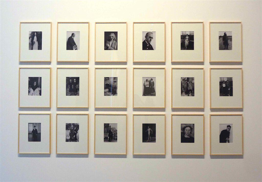 "Sherrie Levine ""After August Sander"" 2012, 18 Lambda Prints"