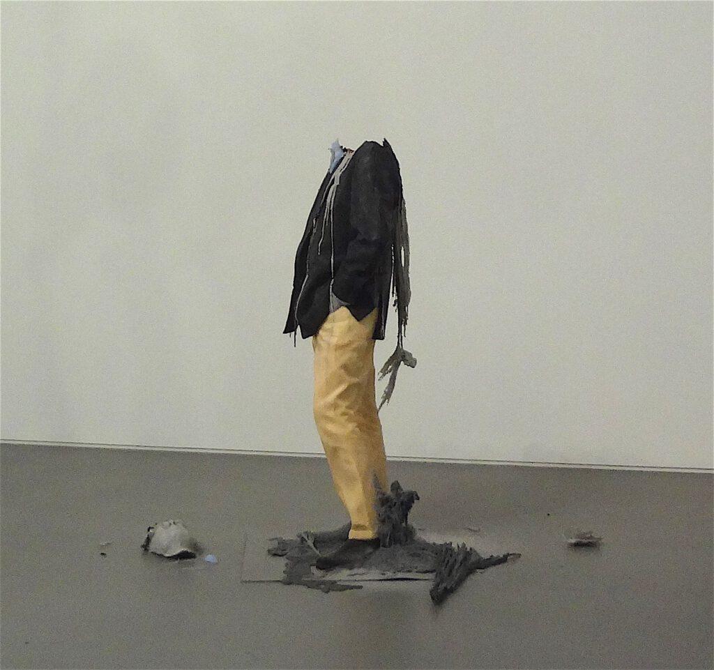 "Urs Fischer ""Untitled"" 2011, Wax, pigments, wicks, steel, detail4"