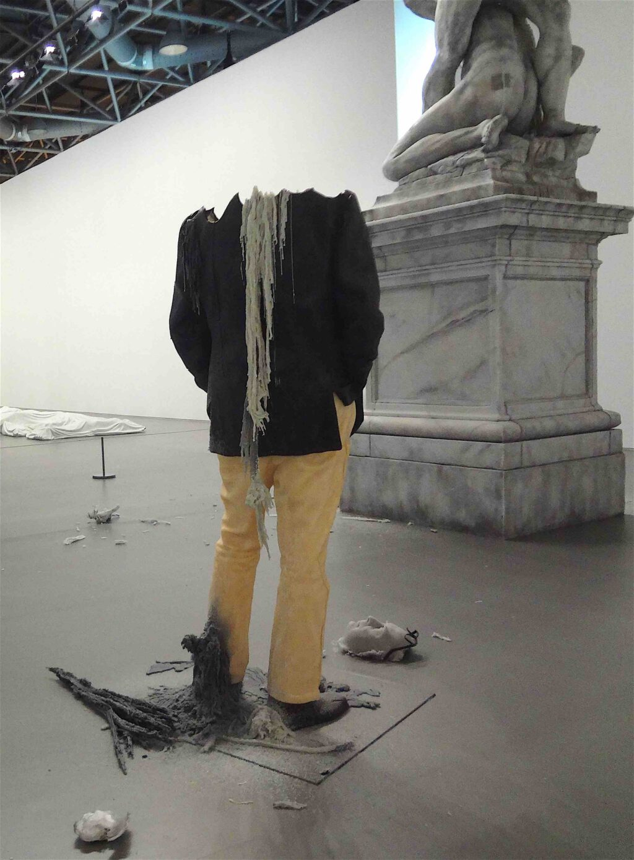 "Urs Fischer ""Untitled"" (Rudi Candle) 2011"