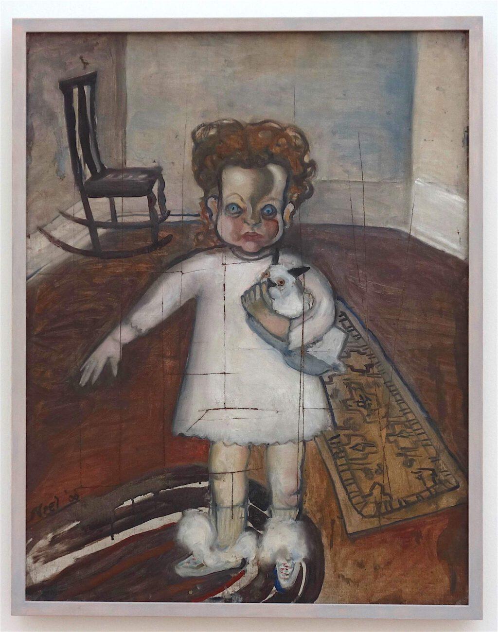 アリス・ニール「イザベッタ」油絵、80 x 61 センチ、1930年
