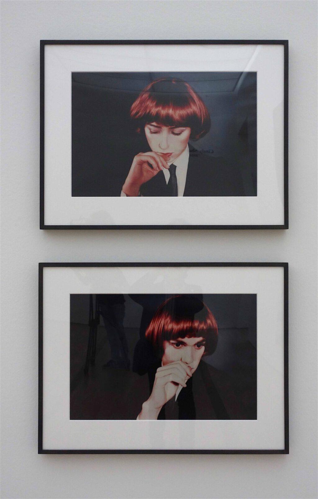 シンディ・シャーマン「無題(ダブルポートレート)」クロモグラフィー・プリント、ディプティク、各 50.8 x 61 センチ、1980年