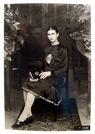 フリーダ・カーロの父親、ギリェルモ・カーロの写真 1926年、フリーダ