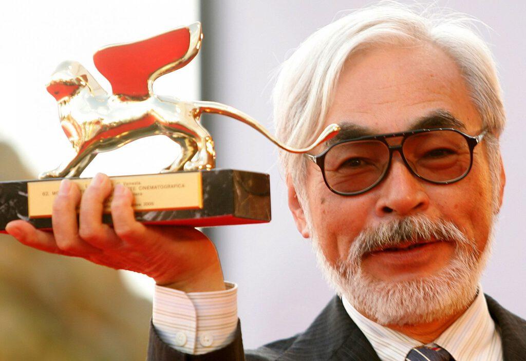 第62回ベネチア国際映画祭で「栄誉金獅子賞」を受賞した宮崎駿監督
