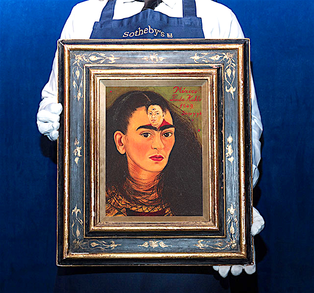 Frida Kahlo Diego y yo (Diego and I) 1949, Estimate in excess of US$30 million @ Sotheby's