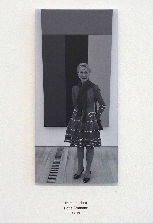 In memoriam – Doris Ammann (2021)