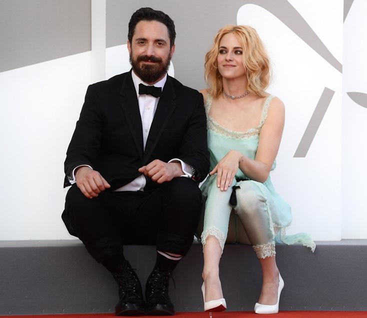 Pablo Larrain and Kristen Stewart