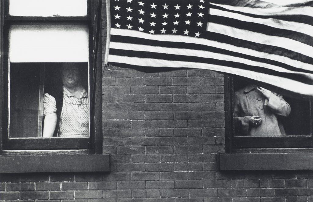 "Robert Frank ""Parade, Hoboken, New Jersey"" 1955"