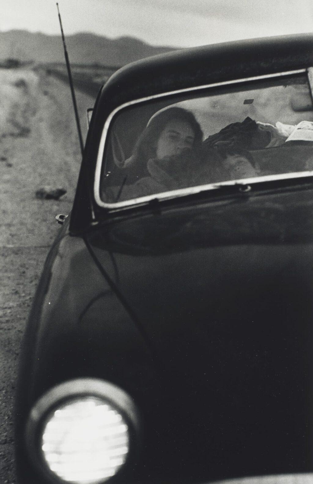 Robert Frank U.S. 90, En Route to Del Rio, Texas, 1955