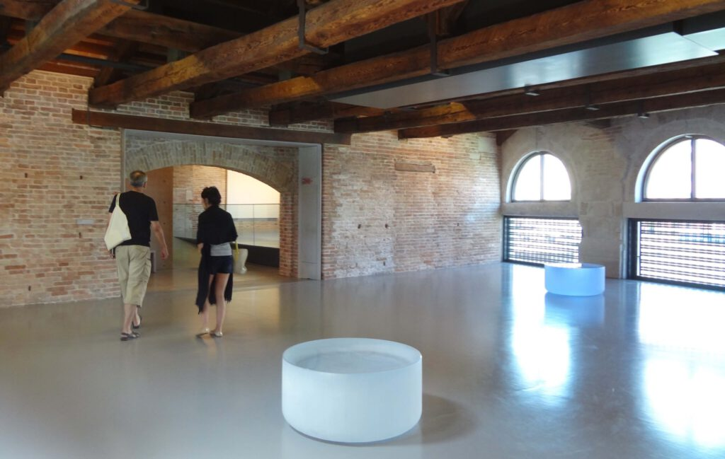 """Roni Horn """"Well and Truly"""" 2009-2010, installation view at Punta della Dogana, Venice 2013"""
