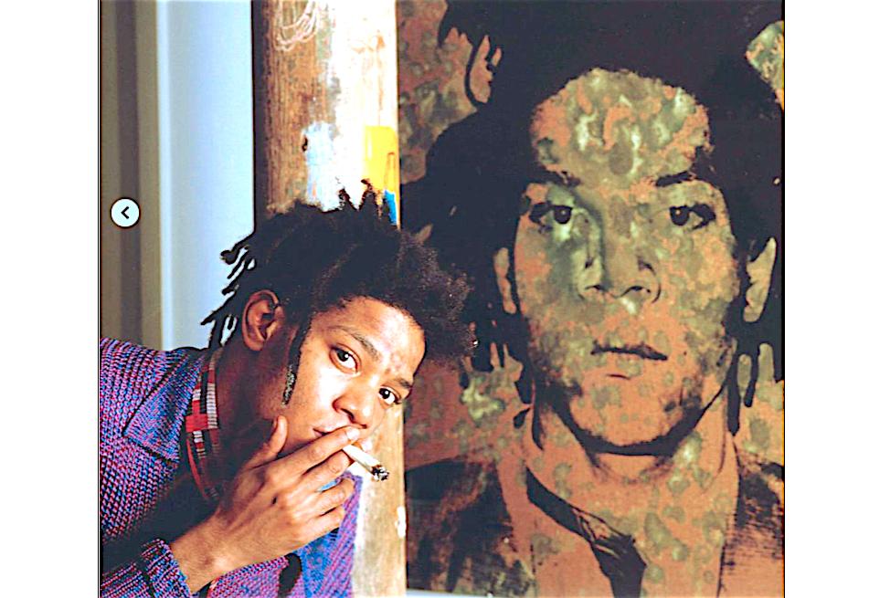 Jean-Michel-Basquiat-smoking-weed-マリファナを吸うジャン=ミシェル・バスキア
