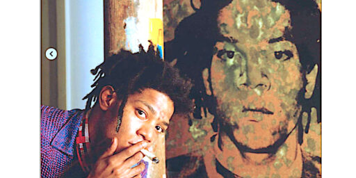 #USABS U.S. ARTY BULL SHIT: White Artist Andy Warhol Pisses On The Face Of Black Artist Jean-Michel Basquiat